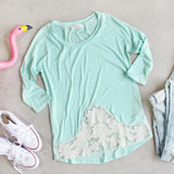 Mojito Lace Tee: Alternate View #1