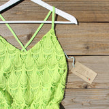 Mojito Lace Romper: Alternate View #2