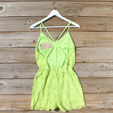 Mojito Lace Romper: Alternate View #4