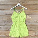 Mojito Lace Romper: Alternate View #1