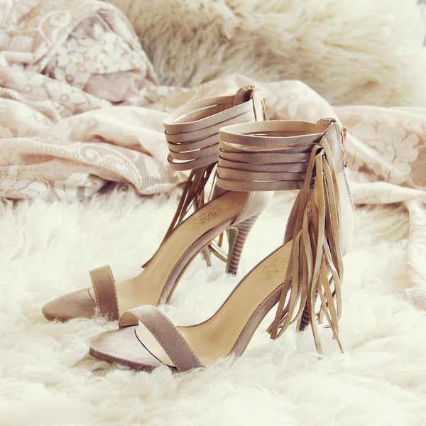 Monaco Fringe Heels: Featured Product Image