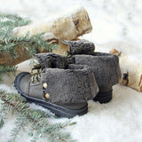 Jack Frost Booties in Sage: Alternate View #4