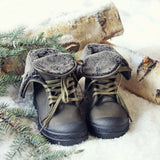 Jack Frost Booties in Sage: Alternate View #3