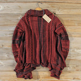 North Frost Knit Sweater in Wine: Alternate View #4