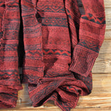 North Frost Knit Sweater in Wine: Alternate View #3