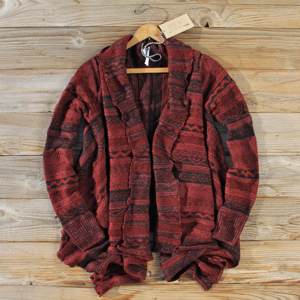 North Frost Knit Sweater in Wine: Featured Product Image