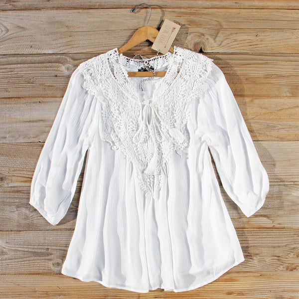 Moon Rise Lace Top: Featured Product Image
