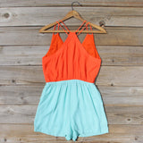 Moon & Surf Romper: Alternate View #4