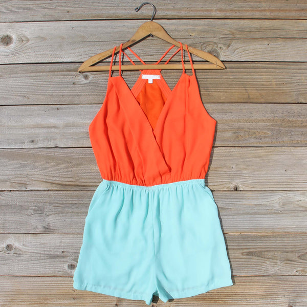 Moon & Surf Romper: Featured Product Image