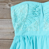 Moonlit Isle Dress in Mint: Alternate View #2