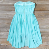 Moonlit Isle Dress in Mint: Alternate View #4
