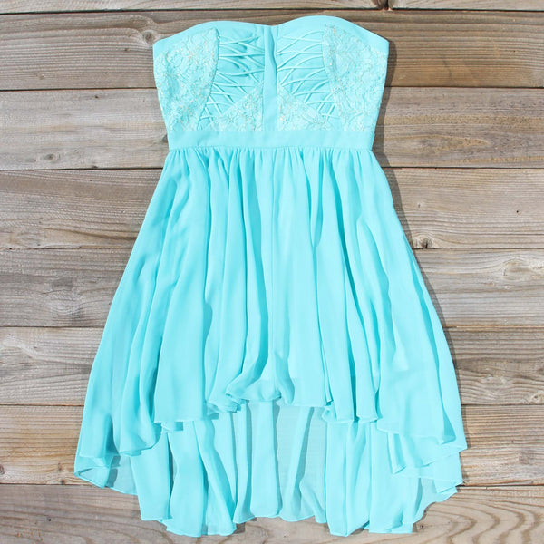 Moonlit Isle Dress in Mint: Featured Product Image