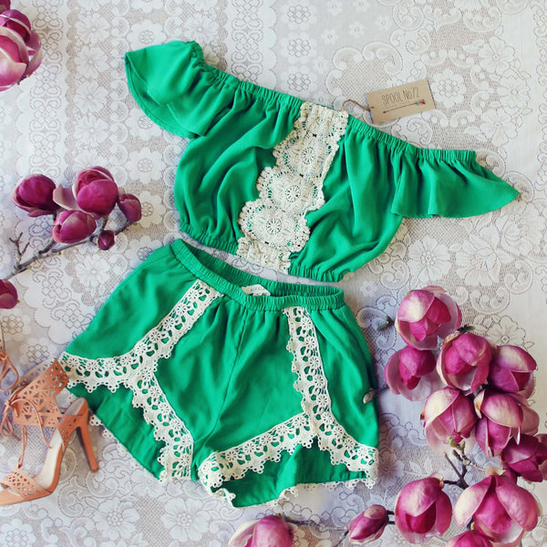 Moonrise Romper Set: Featured Product Image