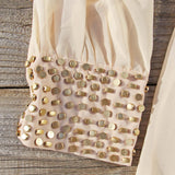 Moonstone Dress in Cream: Alternate View #3