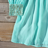Moonstone Dress in Mint: Alternate View #3