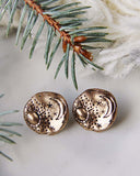 Moonstruck Earrings in Gold: Alternate View #2