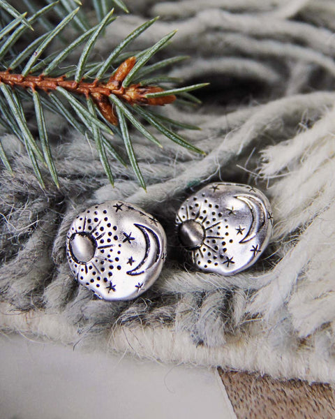 Moonstruck Earrings in Silver: Featured Product Image