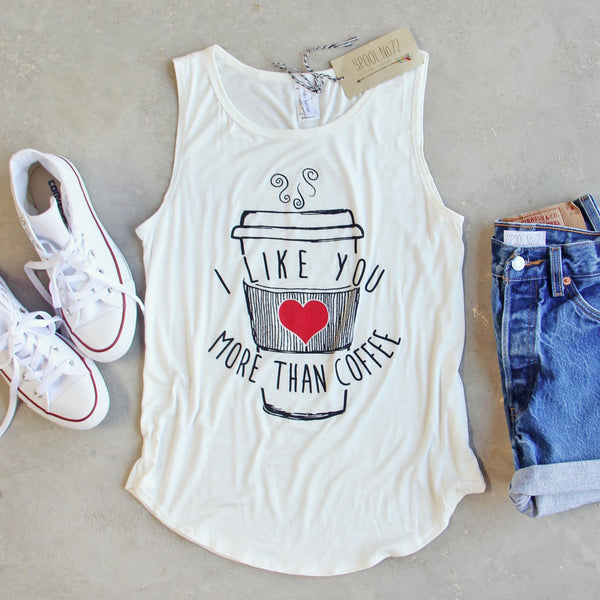 More Than Coffee Tank: Featured Product Image