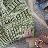 Mount Stewart Beanie in Sage: Alternate View #2