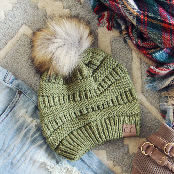 Mount Stewart Beanie in Sage: Featured Product Image