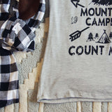 Mountain Camping Tee: Alternate View #3