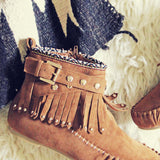 Mountain Gypsy Moccasins: Alternate View #2