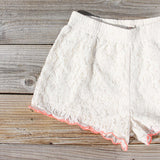 Mountain Laurel Lace Shorts: Alternate View #2