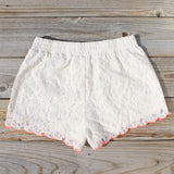 Mountain Laurel Lace Shorts: Alternate View #3