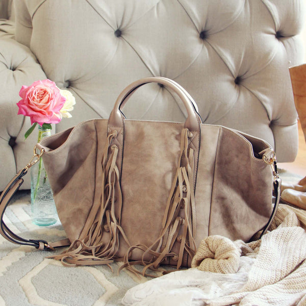 Mountain Spirit Fringe Tote: Featured Product Image