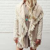 Mountain Laurel Fringe Coat: Alternate View #1
