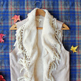 Mountain Laurel Fringe Vest: Alternate View #2