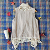 Mountain Laurel Fringe Vest: Alternate View #3