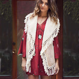 Mountain Laurel Fringe Vest: Alternate View #4