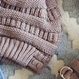 Mount Stewart Beanie in Taupe: Alternate View #2