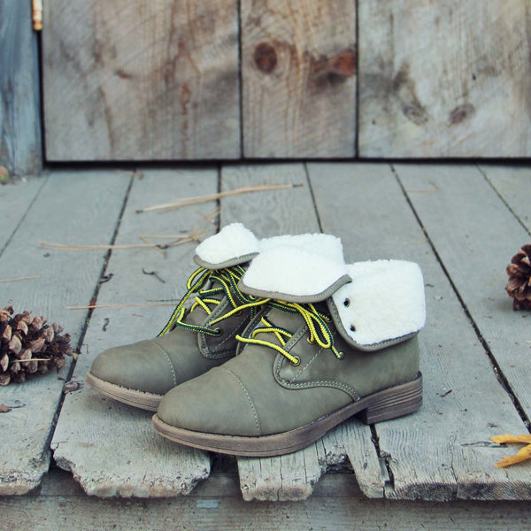 Mt. Rainier Boots in Khaki: Featured Product Image