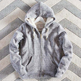 Mt. Stewart Hoodie in Gray: Alternate View #1