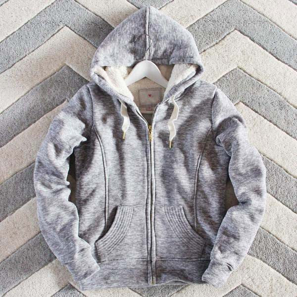 Mt. Stewart Hoodie in Gray: Featured Product Image