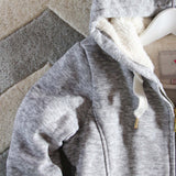 Mt. Stewart Hoodie in Gray: Alternate View #3