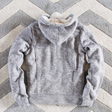 Mt. Stewart Hoodie in Gray: Alternate View #4