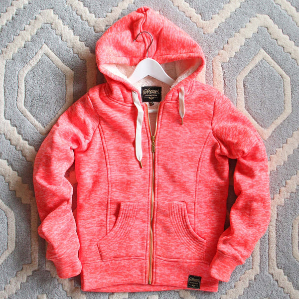 Mt. Stewart Hoodie in Pink: Featured Product Image