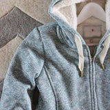Mt. Stewart Hoodie in Sage: Alternate View #2