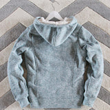 Mt. Stewart Hoodie in Sage: Alternate View #4