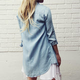 The Must Have Shirt Dress: Alternate View #3