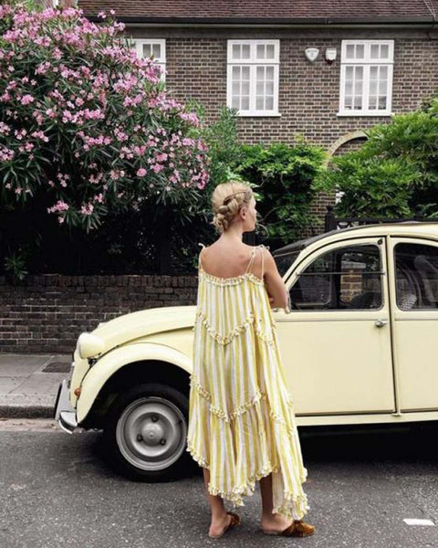 Mustard + Tassel Maxi: Featured Product Image