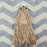 Mystic Gold Party Dress: Alternate View #4