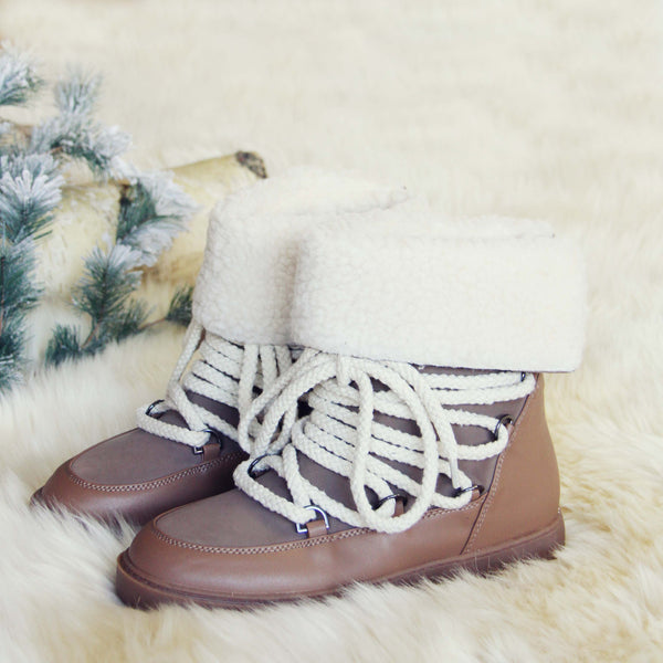 Nanook Snow Boots in Taupe: Featured Product Image