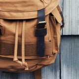 Nanum Falls Backpack in Tobacco: Alternate View #2
