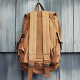 Nanum Falls Backpack in Tobacco: Alternate View #3