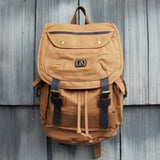 Nanum Falls Backpack in Tobacco: Alternate View #1