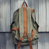 Nanum Falls Backpack in Sage: Alternate View #3